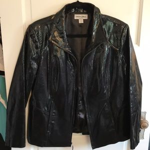 Preston & York Jackets & Coats - Black Leather Preston& York cost Size L